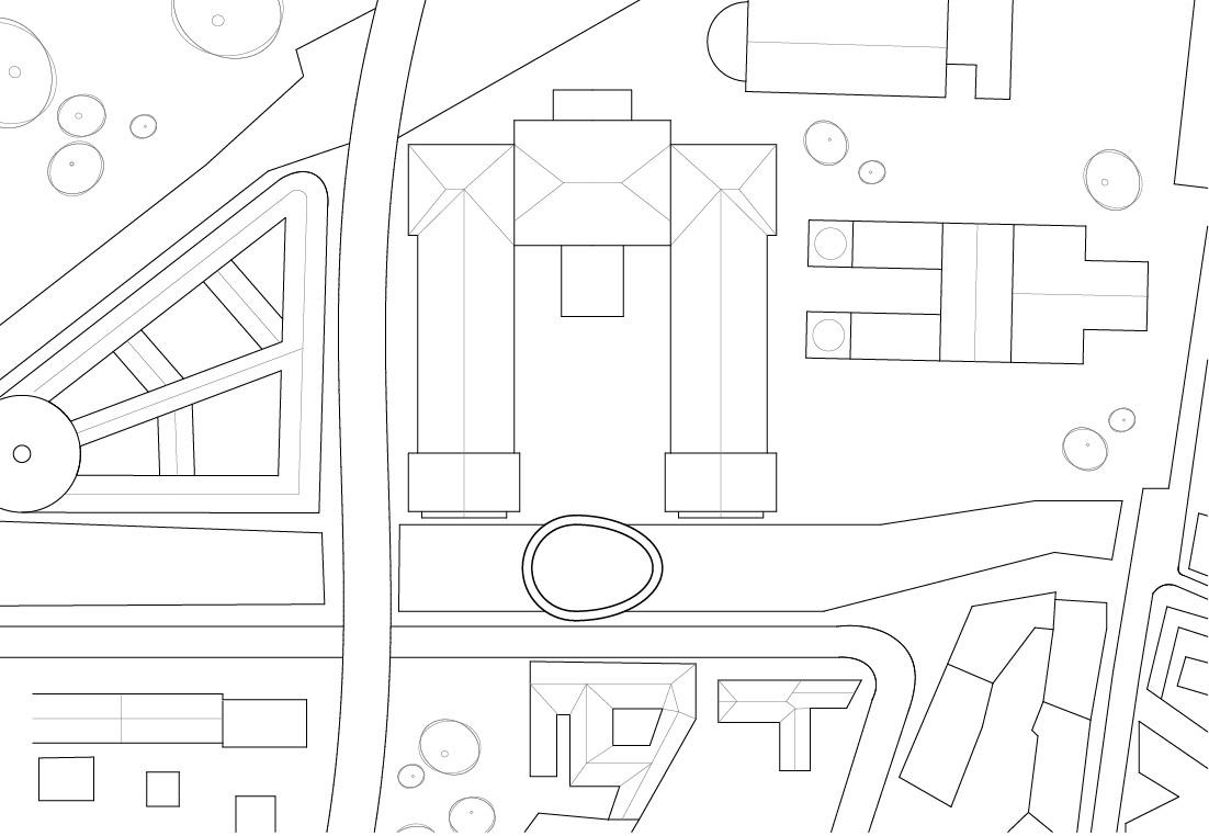 KUBIK Architektur - Studio für Architektur Berlin - architecture - Wettbewerb - Bruecke Pergamon Museum- Lageplan
