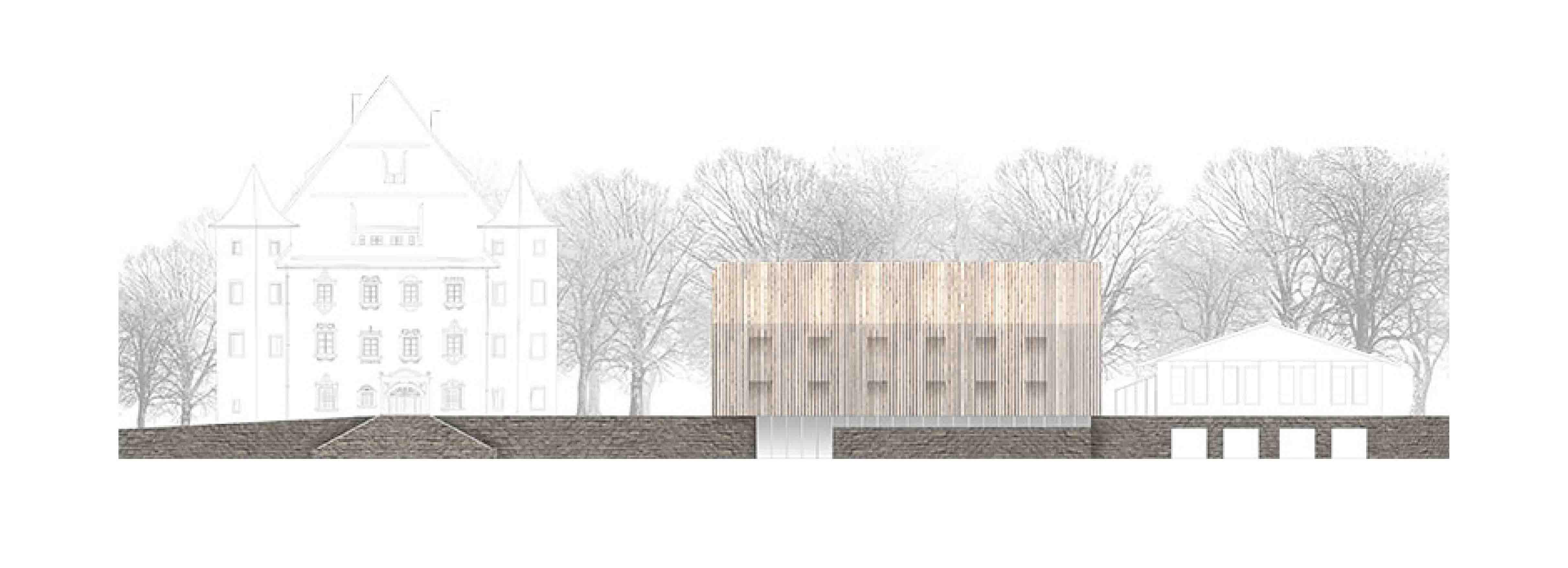 Ansicht Architektur kubik architektur architecture berlin sst ansicht nord studio kubik