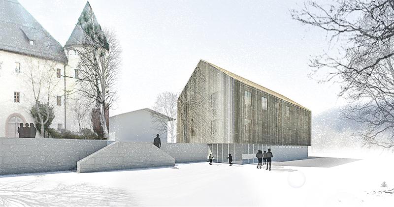 KUBIK Architektur - Studio für Architektur Berlin - architecture - Wettbewerb - Schullandheim Tandalier - Perspektive