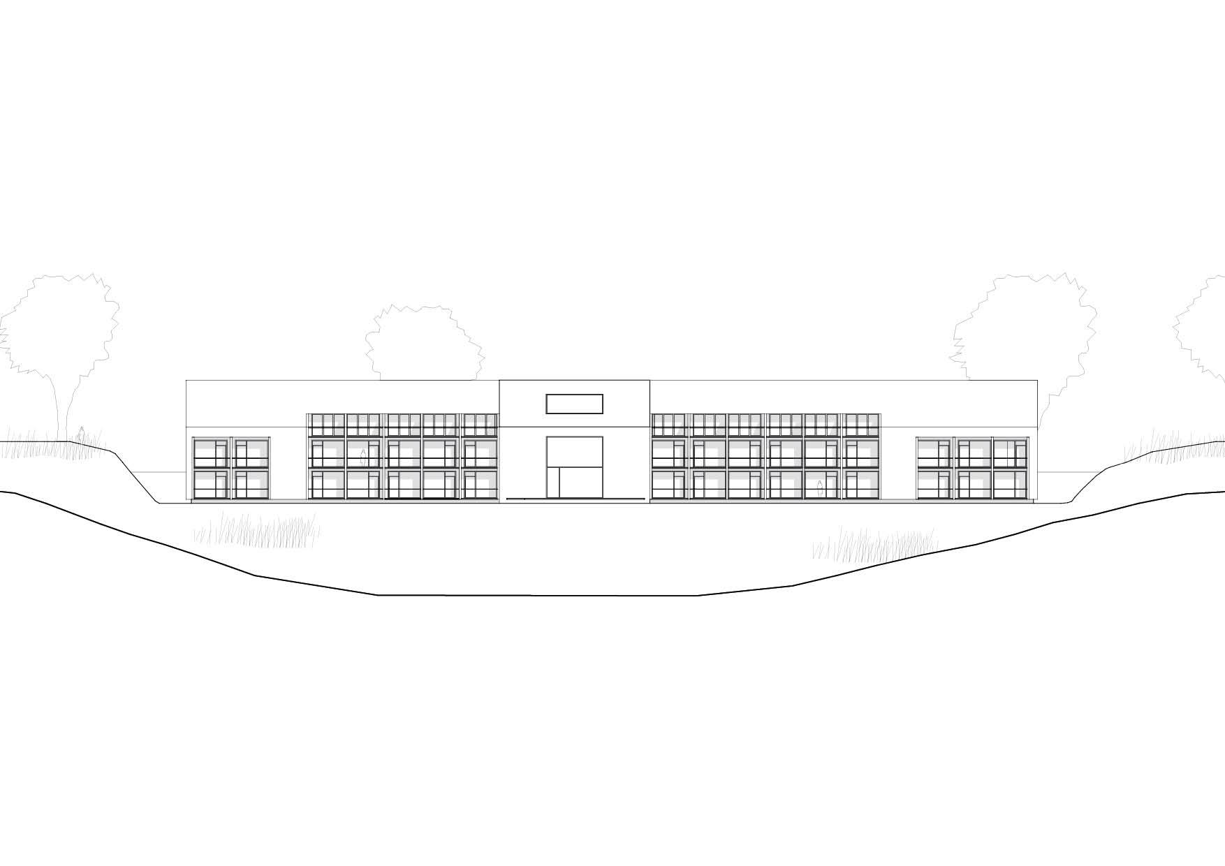 KUBIK Architektur - Studio für Architektur Berlin - architecture - Projekt - Hotel - Ansicht
