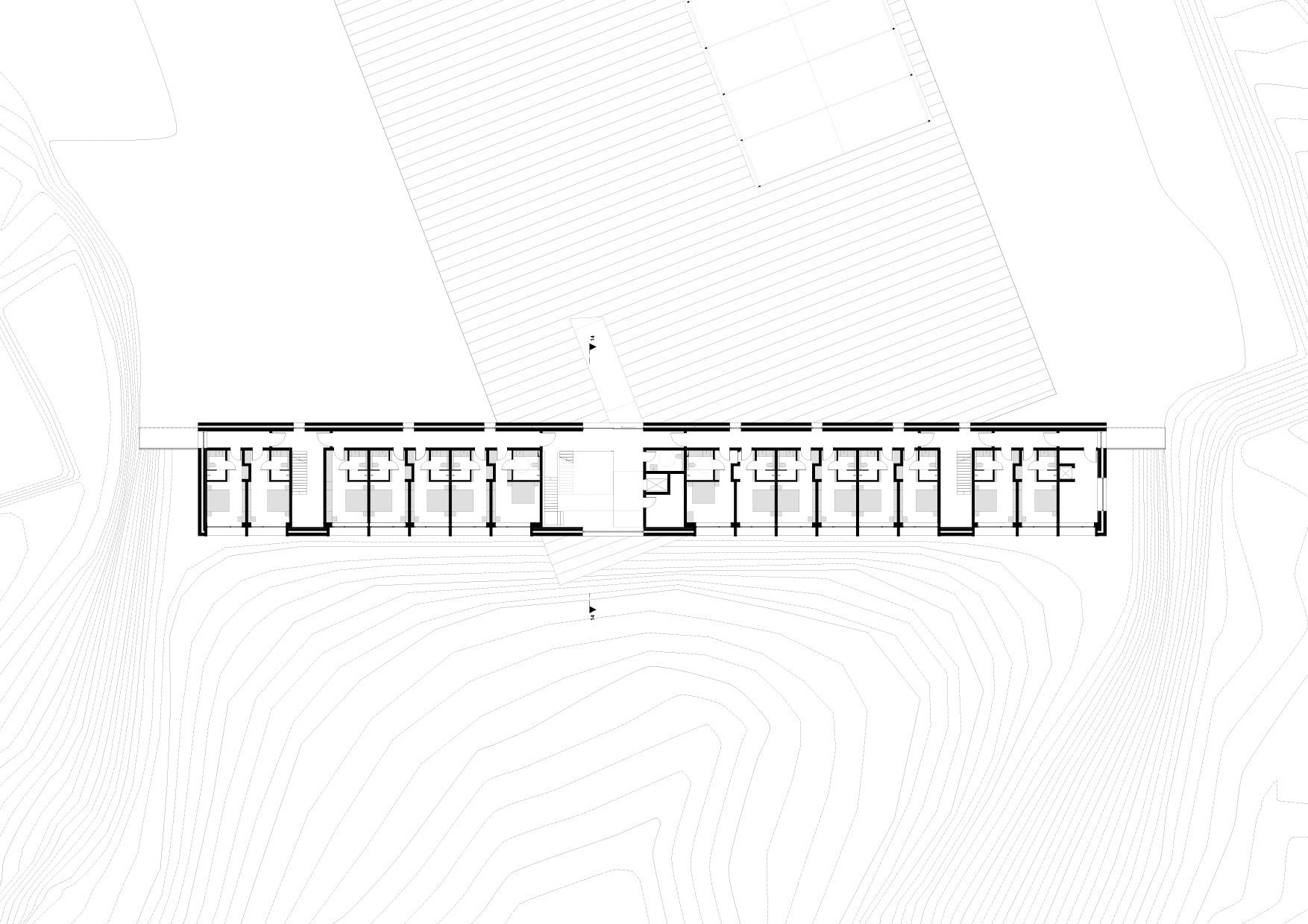 KUBIK Architektur - Studio für Architektur Berlin - architecture - Projekt - Hotel - Erdgeschoss