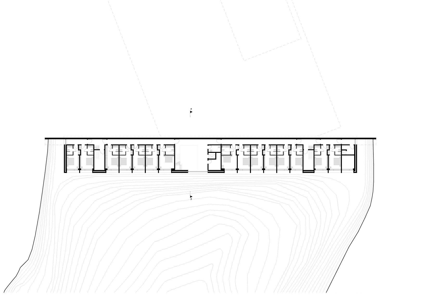 KUBIK Architektur - Studio für Architektur Berlin - architecture - Projekt - Hotel - Untergeschoss