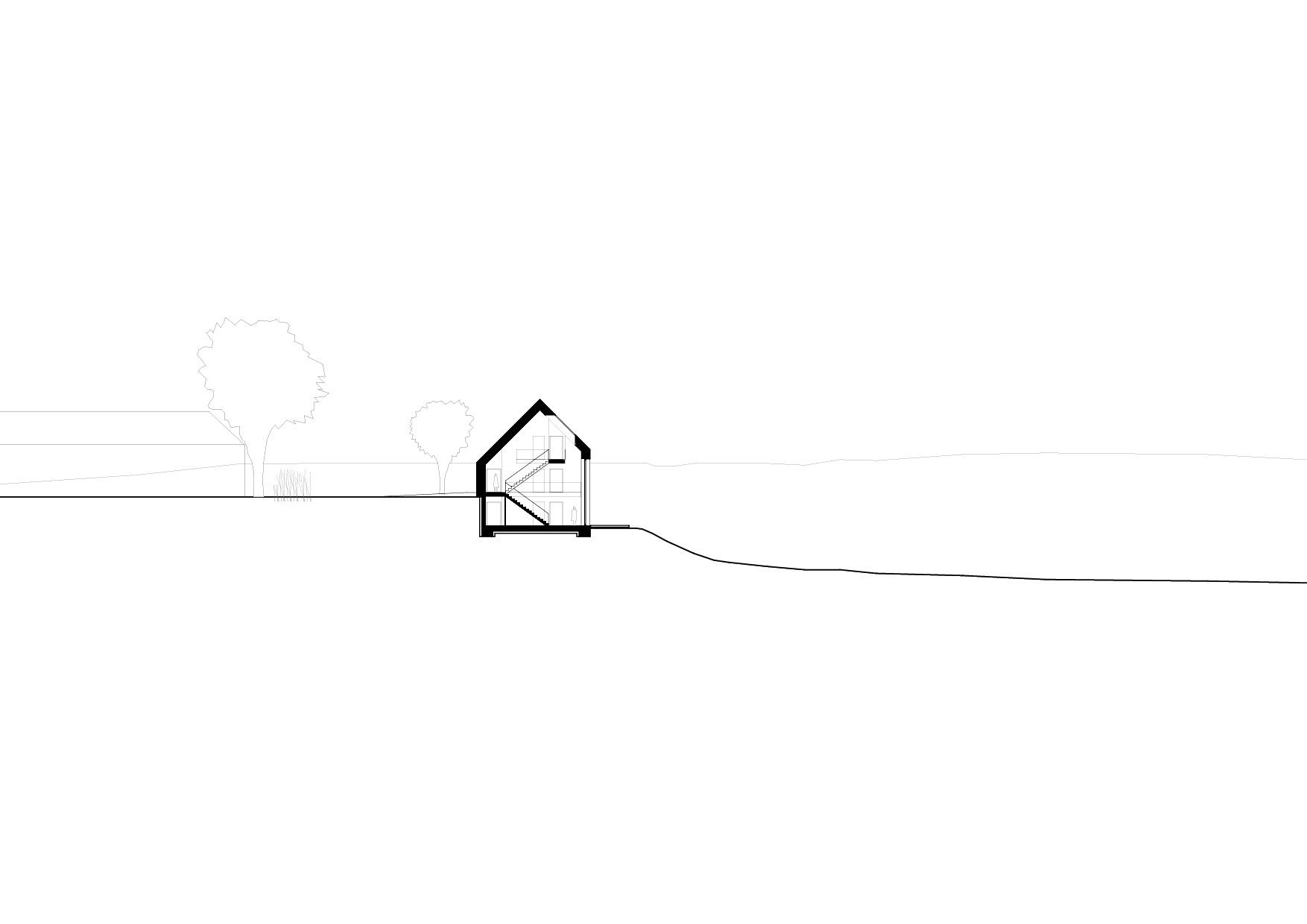 KUBIK Architektur - Studio für Architektur Berlin - architecture - Projekt - Hotel - Schnitt