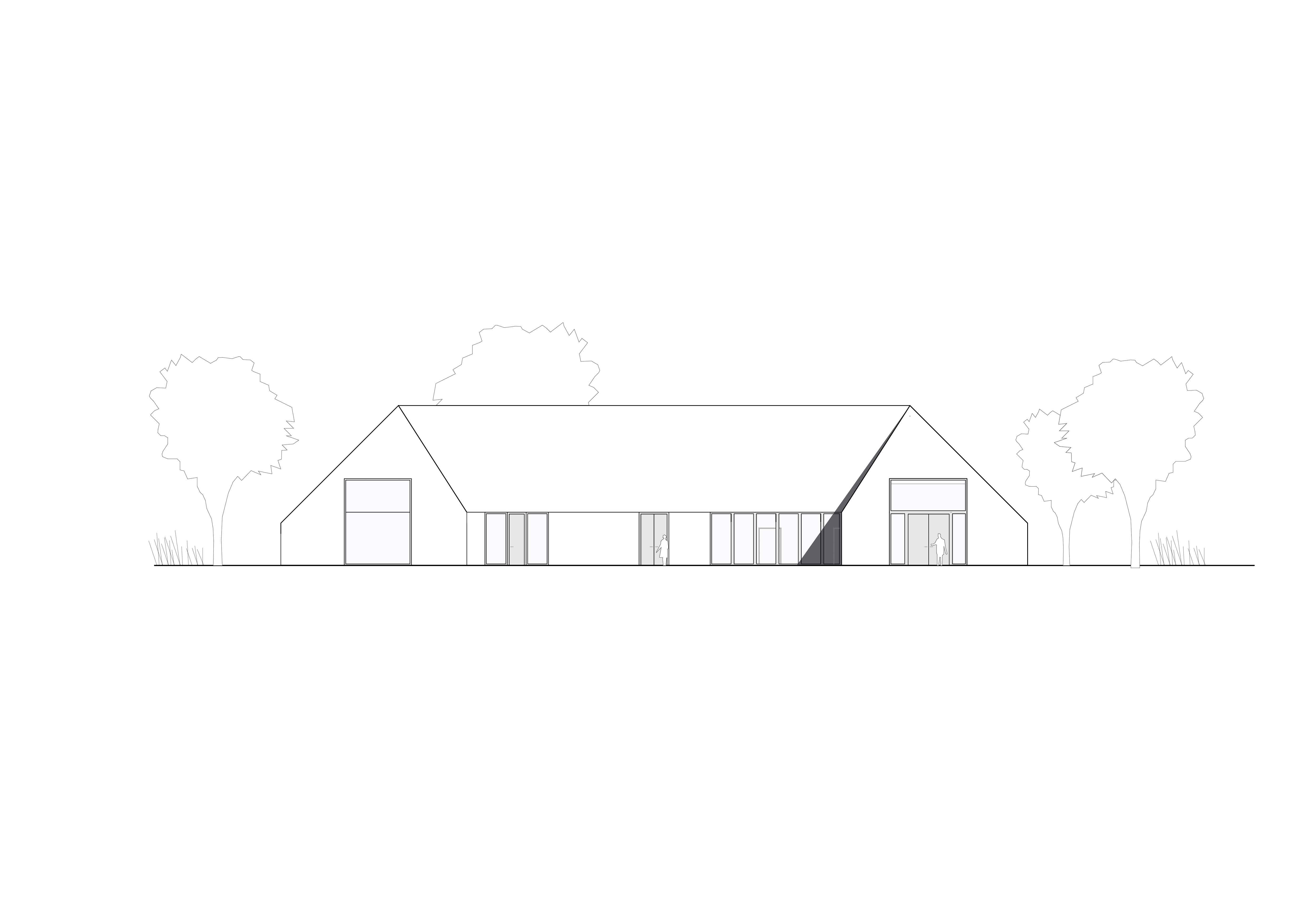 KUBIK Architektur - Studio für Architektur Berlin - architecture - Projekt- Hotellogistik - Ansicht