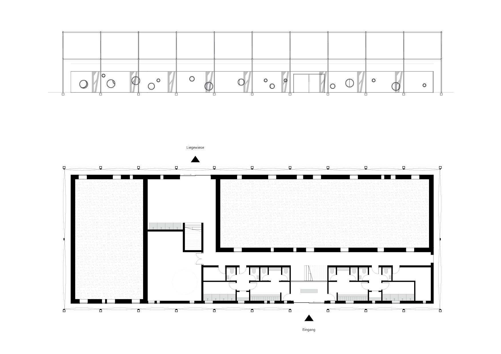 KUBIK Architektur - Studio für Architektur Berlin - architecture - Projekt - Schwimmbad - Grundriss