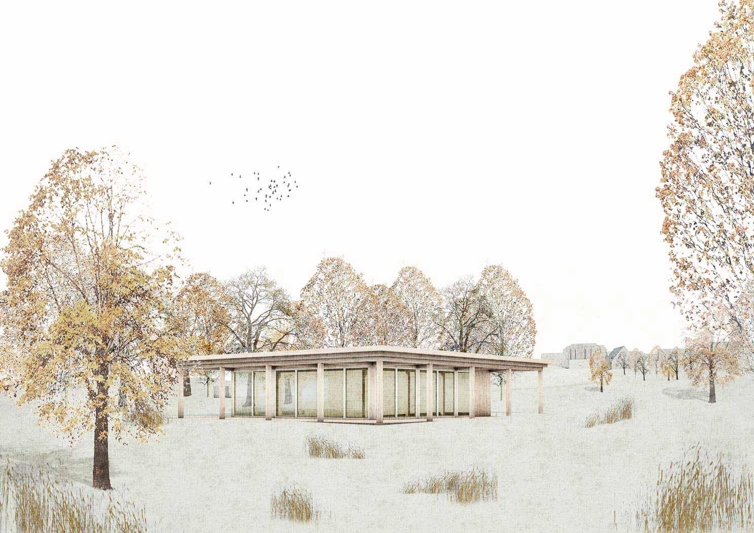 KUBIK Architektur - Studio für Architektur Berlin - architecture - Projekt - Kultur - Cafe - Perspektive