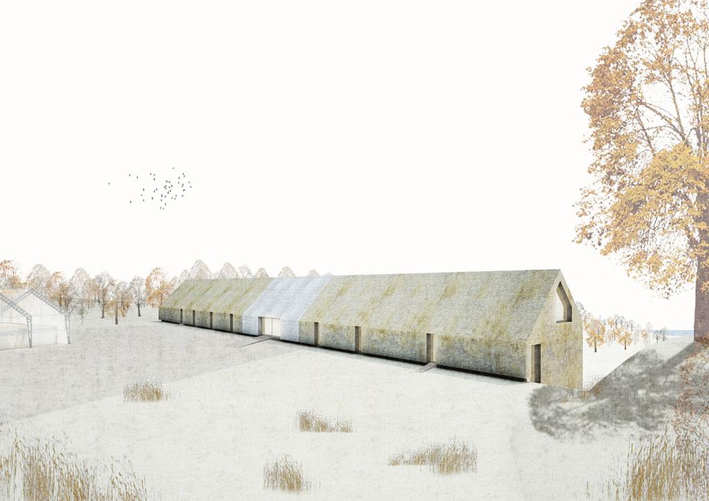 KUBIK Architektur - Studio für Architektur Berlin - architecture - Projekt - Hotel - Perspektive