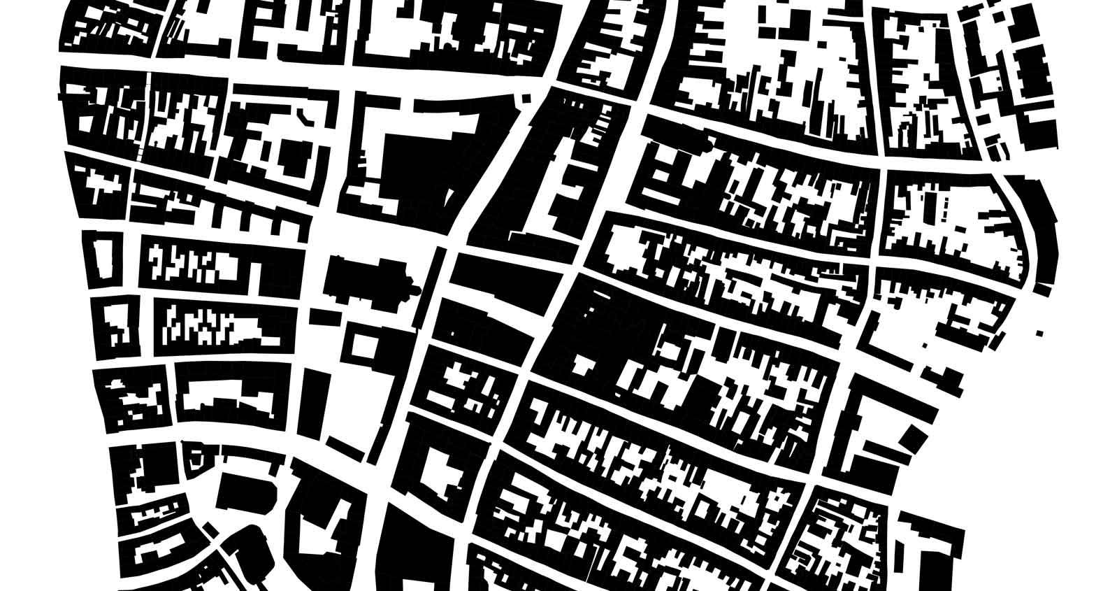 KUBIK Architektur - Studio für Architektur Berlin - architecture - Wettbewerb - Wohnbau - Gruenderzentrum Luebeck - Schwarzplan