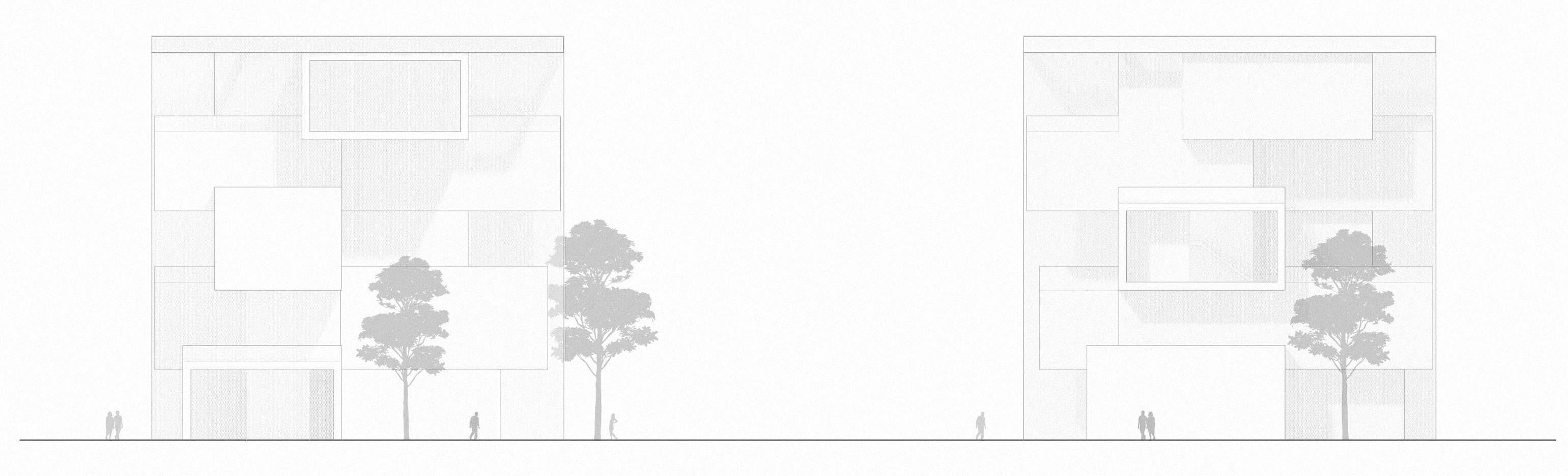 KUBIK Architektur - Studio für Architektur Berlin - architecture - Wettbewerb - Museum - Literaturmuseum Suzhou - Ansicht