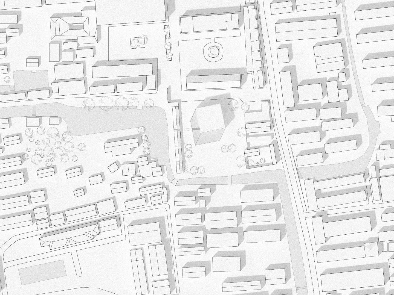 KUBIK Architektur - Studio für Architektur Berlin - architecture - Wettbewerb - Museum - Literaturmuseum Suzhou - Lageplan