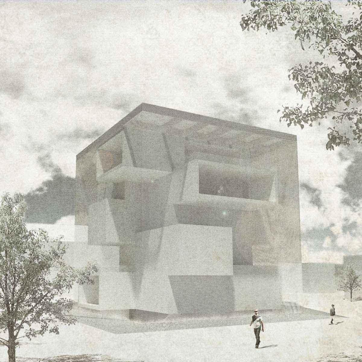 KUBIK Architektur - Studio für Architektur Berlin - architecture - Wettbewerb - Museum - Literaturmuseum Suzhou - Perspektive