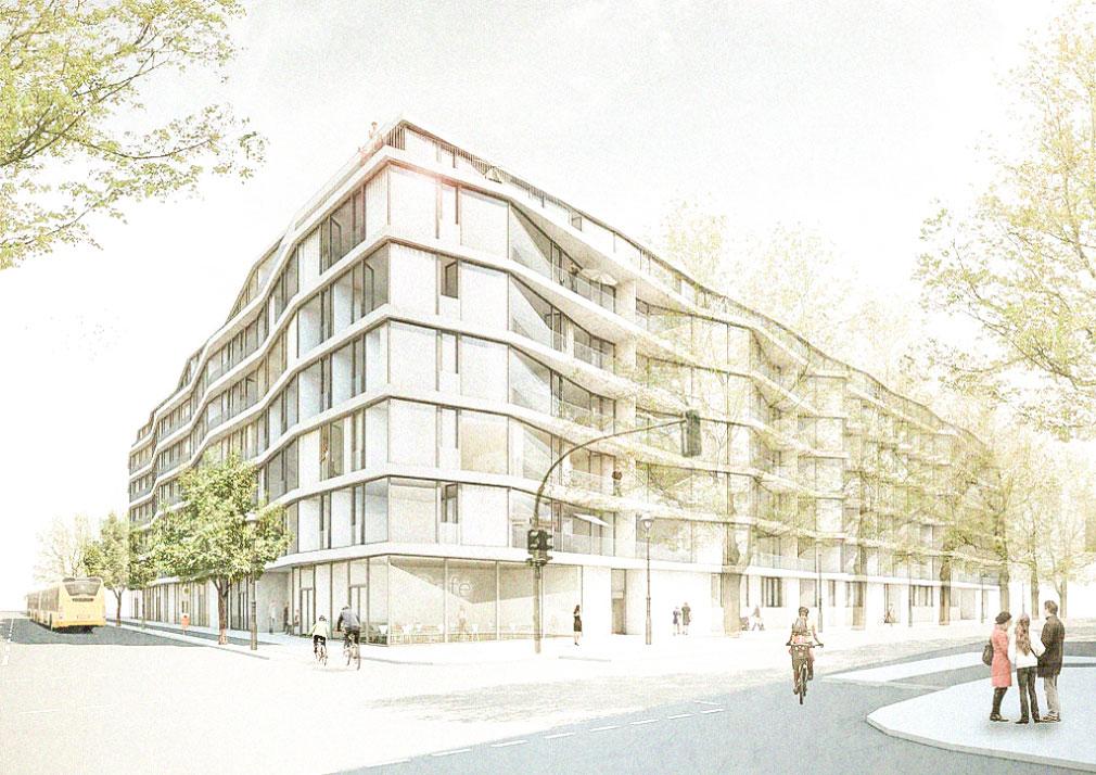 KUBIK Architektur - Studio für Architektur Berlin - architecture - Wettbewerb Wohnbau Pallasstrasse