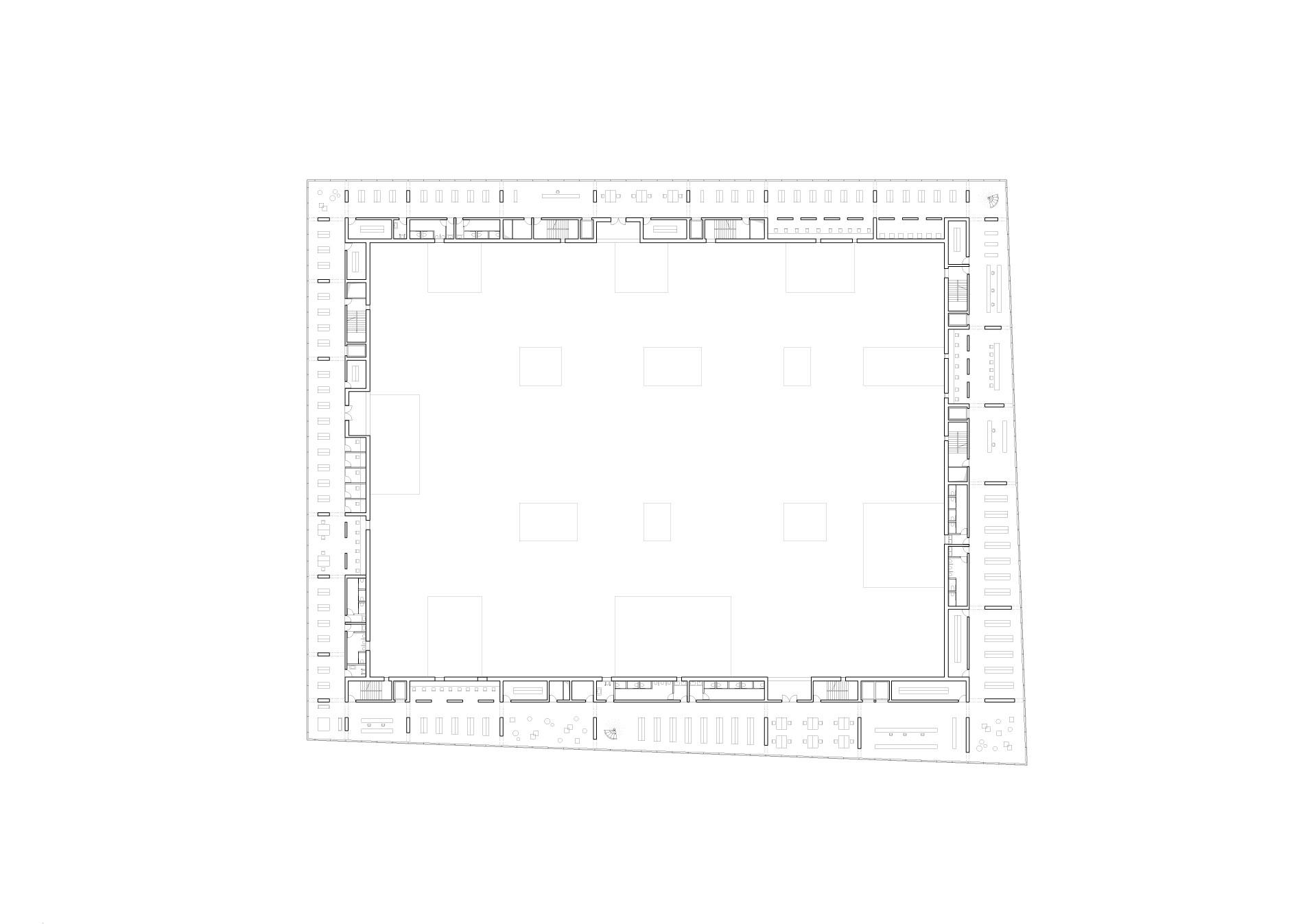 KUBIK Architektur - Studio für Architektur Berlin - architecture - Wettbewerb - Kulturzentrum - Spektrum Spandau - Grundriss