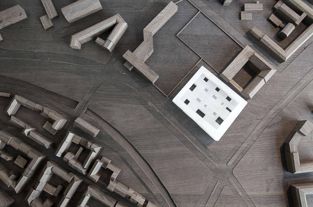 KUBIK Architektur - Studio für Architektur Berlin - architecture - Wettbewerb - Kulturzentrum - Spektrum Spandau - Modellfoto