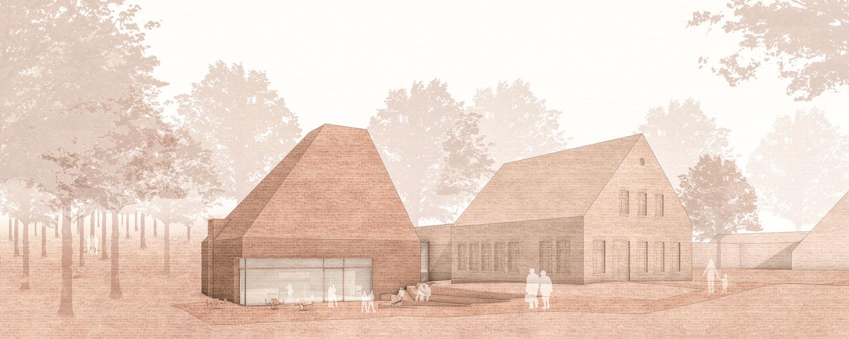 KUBIK Architektur - Studio für Architektur Berlin - architecture - Wettbewerb - Museum - Syke - Perspektive
