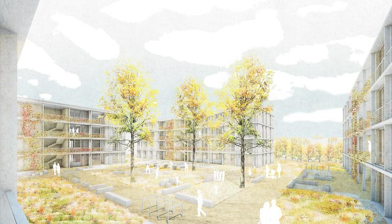 KUBIK-architektur-architecture-berlin-ESW-Perspektive Hof