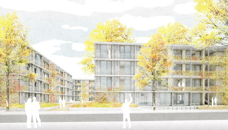 KUBIK-architektur-architecture-berlin-ESW-Perspektive Straße