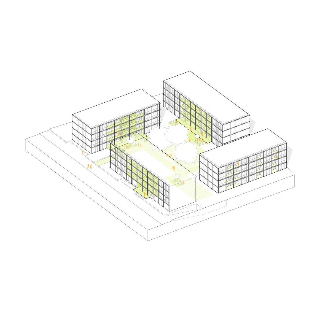 KUBIK-architektur-architecture-berlin-ESW-axonometrie