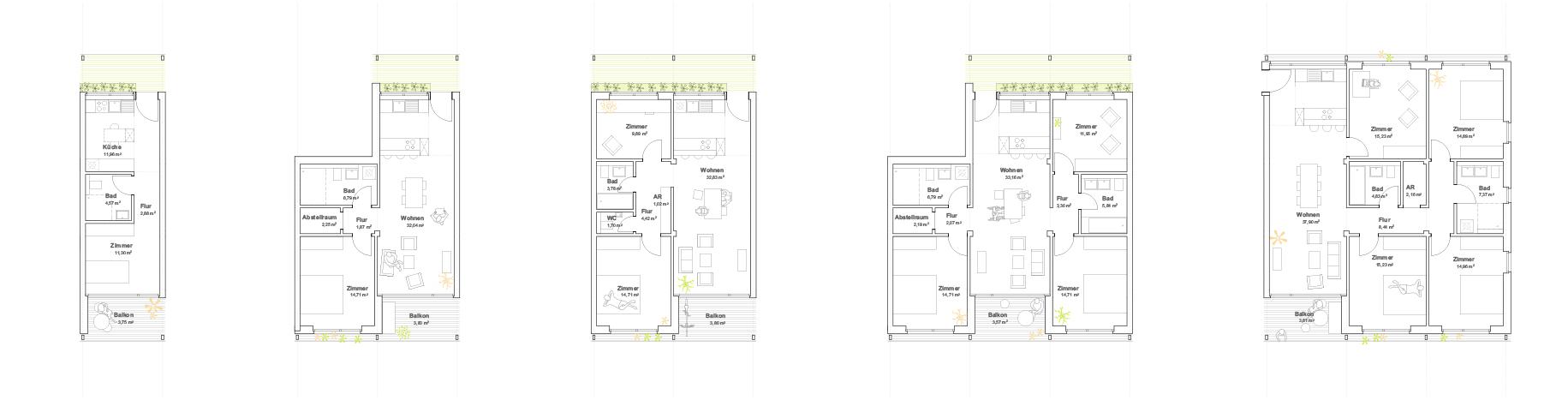 KUBIK-architektur-architecture-berlin-ESW-wohnungstypen