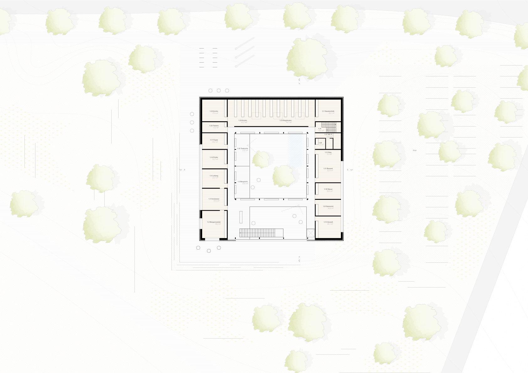 STUDIOKUBIK-KUBIK-architektur-architecture-berlin-RMP-skizze-erdgeschoss-ground-floor
