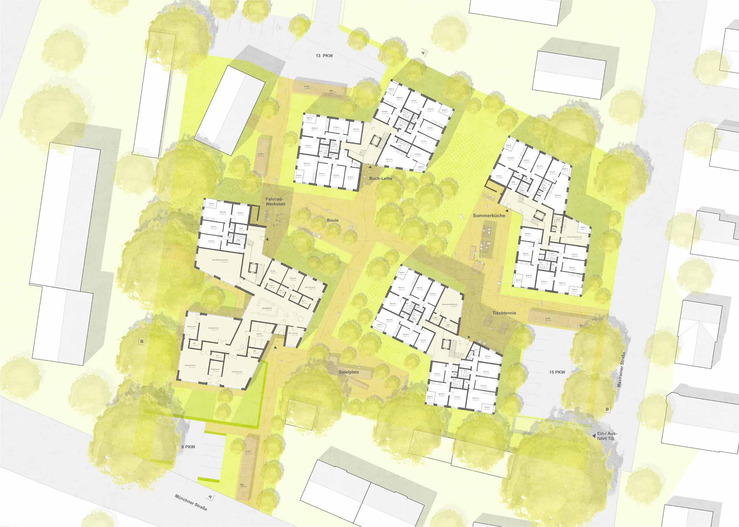 STUDIOKUBIK-architektur-architecture-berlin-wohnanlage-karl-wagner-straße-bad-aibling-eg