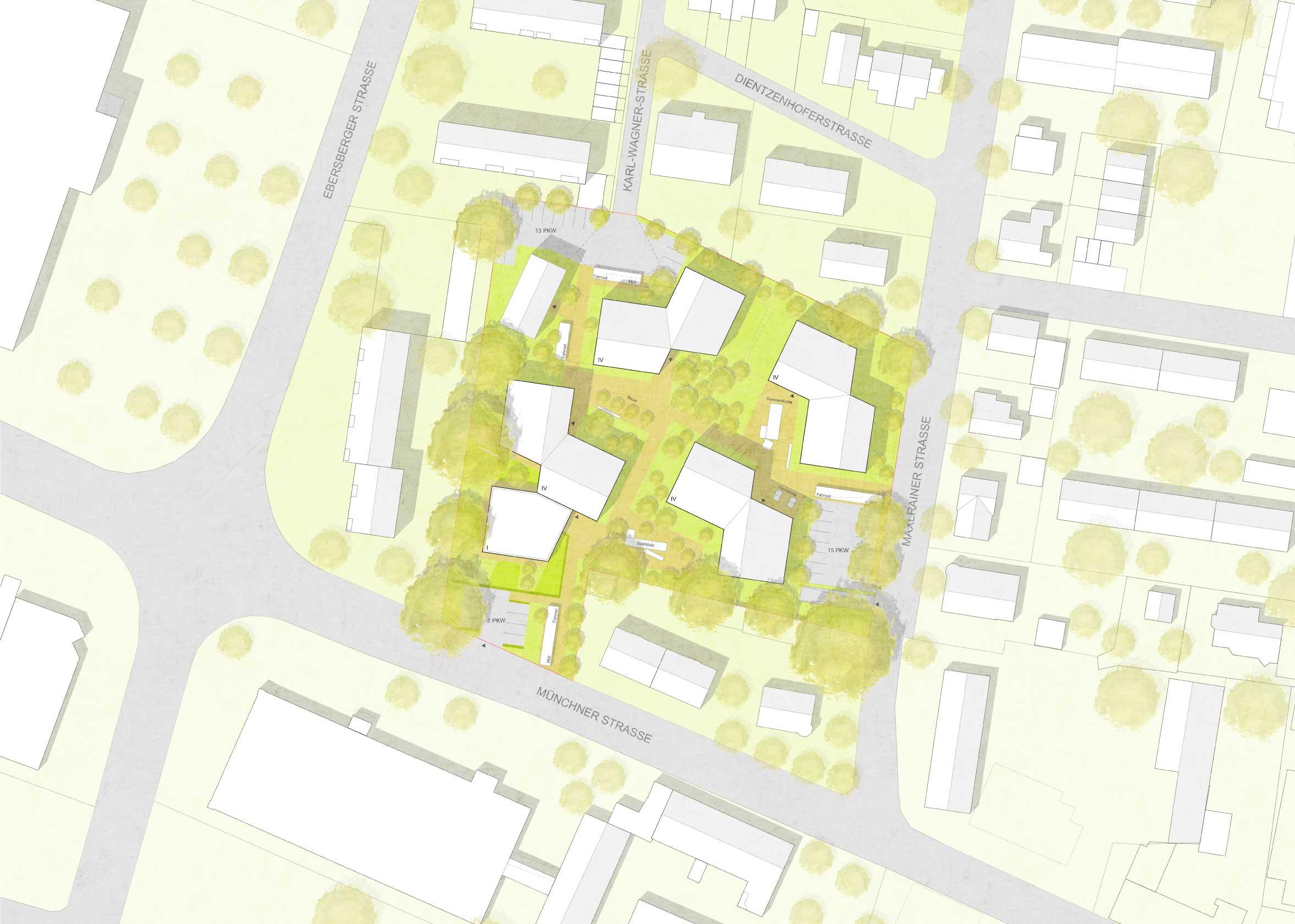 STUDIOKUBIK-architektur-architecture-berlin-wohnanlage-karl-wagner-straße-bad-aibling-lageplan