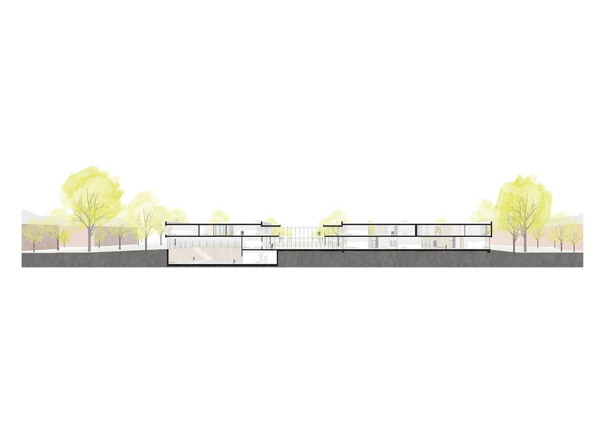STUDIOKUBIK_architektur-architecture-berlin-Grundschule-Kindergarten-Hort-Krampnitz_Schnitt