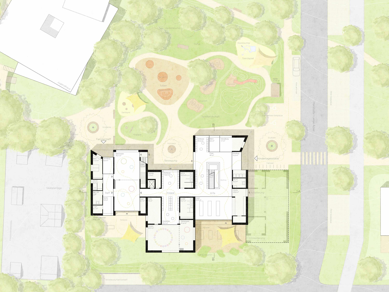 STUDIOKUBIK-architektur-architecture-berlin-KAE-Kindertagesstaette-Alter-Eichwald-Denkendorf-eg